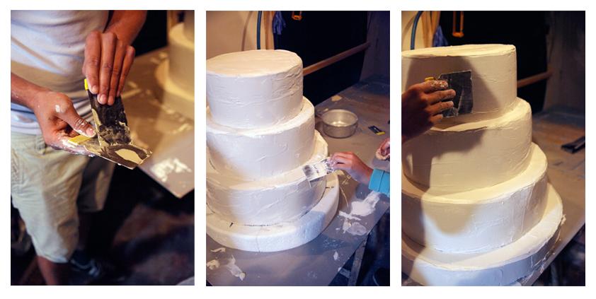 ... Tutoriel / Comment fabriquer un faux wedding cake – belgian blogger