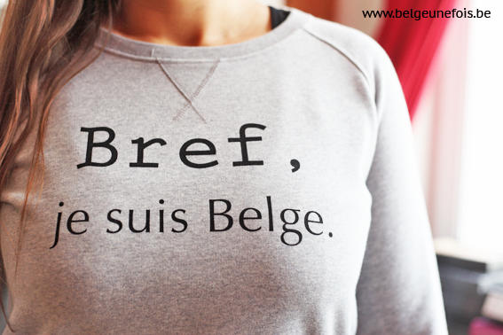 pull bref je suis belge