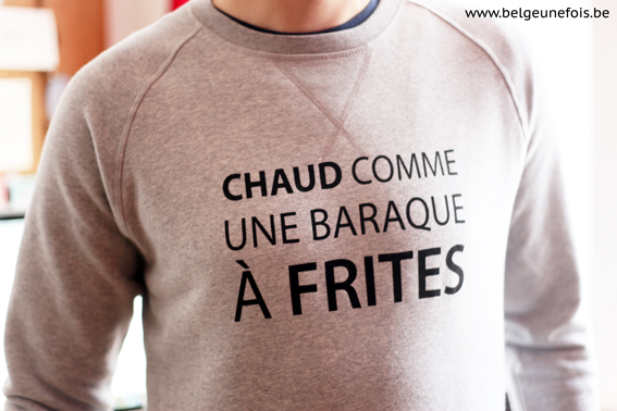 pull chaud comme une baraque a frites