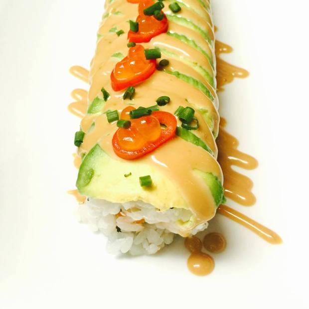 Dragon tempura roll
